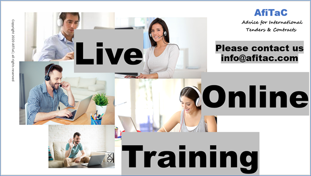 FIDIC and NEC Live Online Training