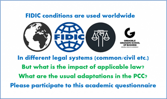 Questionnaire - FIDIC and legal systems