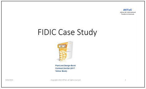 case-study on FIDIC